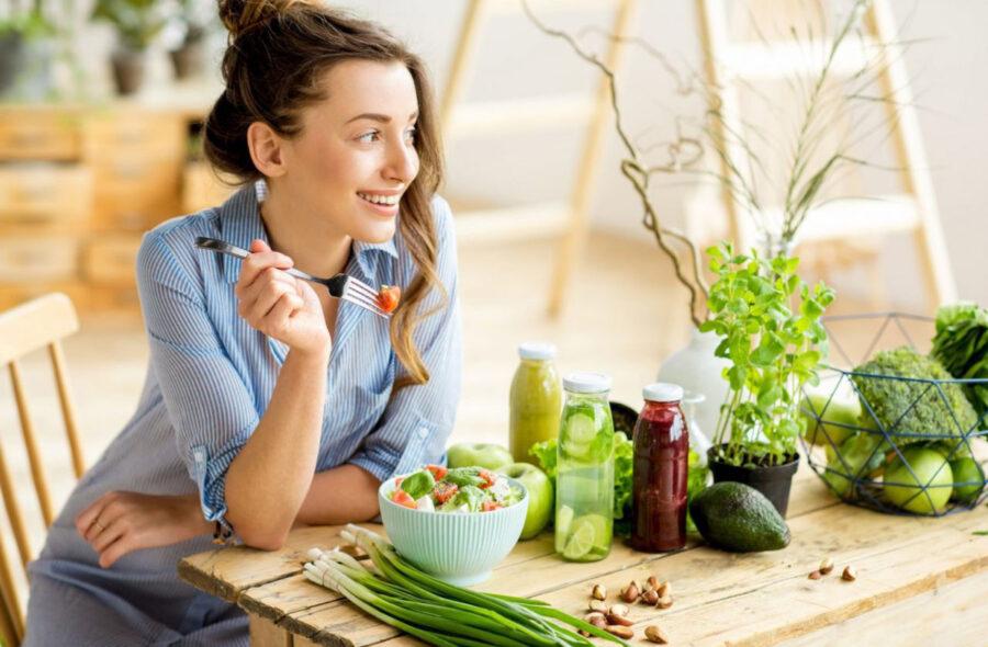 Cách làm salad rau trộn giảm cân trong 1 tháng