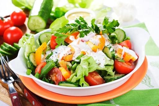 Ăn salad giúp giảm cân hiệu quả